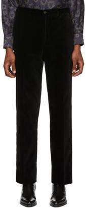 Cobra S.C. SSENSE Exclusive Black Velvet Classics Trousers