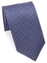 Salvatore Ferragamo Silk Buckle Tie