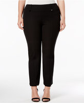 Alfani Plus Size Skinny Pull-On Pants, Only at Macy's