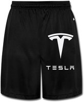 Boss-Seller Men's Unique Simple Tesla Motors Logo Pants Size L