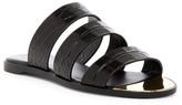 Rachel Zoe Rivi Croc-Embossed Sandal