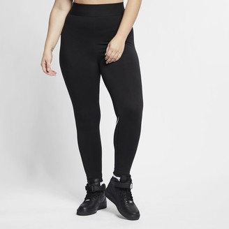 Nike Women's High-Rise Leggings (Plus Size Sportswear Leg-A-See