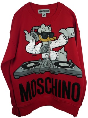 Moschino For H&m Red Cotton Top for Women