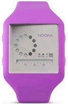 Nooka Zub Zirc Watch in Purple/Silver