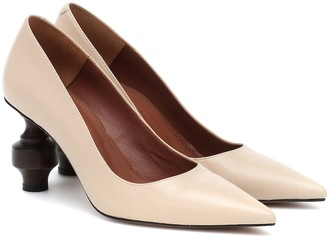 Souliers Martinez Amar leather pumps