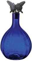 Jan Barboglio Blue Butterfly Decanter