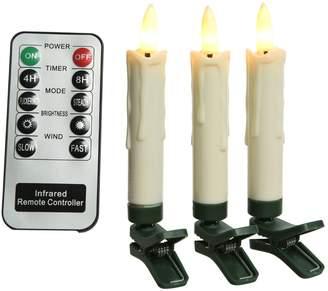 Kaemingk Clip-On LED Candle Decorations (Set of 10)