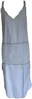 Onelady Colorful Midi Dress Light Blue Drica