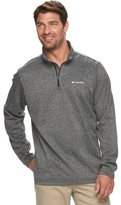 Columbia Big & Tall Dunsire Point Classic-Fit Colorblock Fleece Quarter-Zip Pullover