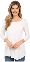 NYDJ City/Sport Leah Basic 3/4 Sleeve Tee