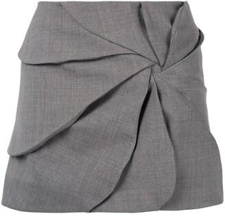 Coperni ruched mini skirt