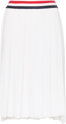 Thom Browne High-Waisted Pleated Skirt