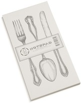 Hester and Cook Cutlery Notepad