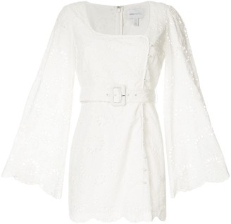 Alice McCall broderie anglaise Cloud Obscurity mini dress