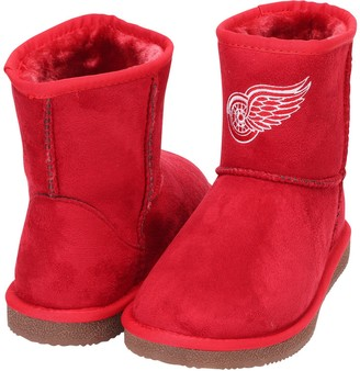 Women's Cuce Red Detroit Red Wings The Rookie Mini Boots