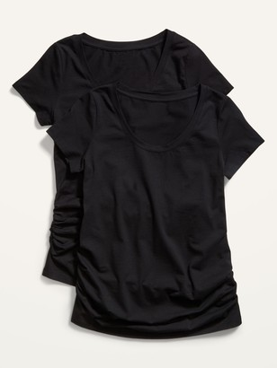 Old Navy Maternity Scoop-Neck Tee 2-Pack