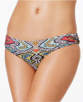 Roxy Poetic Mexic Printed Strappy Bikini Bottoms