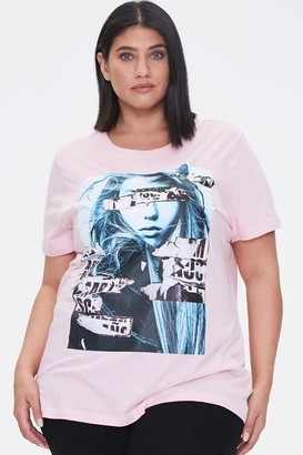 Forever 21 Plus Size Woman Graphic Tee