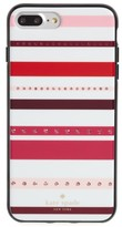 Kate Spade Jeweled Stripe Iphone 7 & 7 Plus Case - Pink