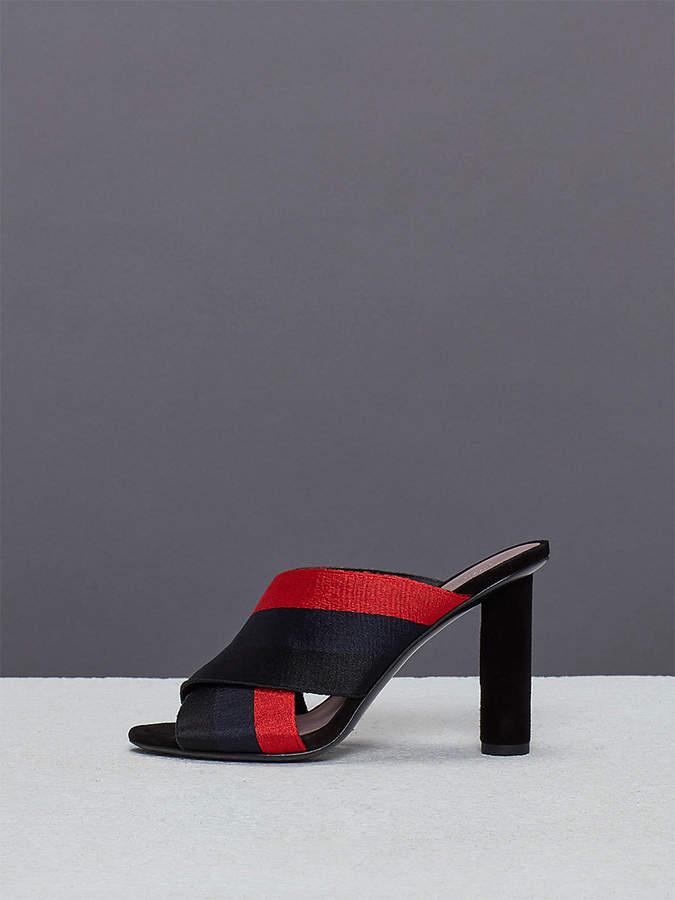Diane von Furstenberg Cross Over Ribbon Heel