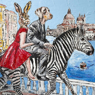 Gillie & Marc They Did Things Differently When In Venice Print