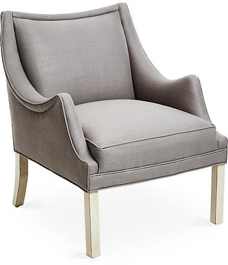 Bunny Williams Home Koko Chair - Gray Linen
