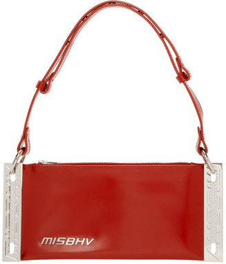 Misbhv Red Mini Trinity Shoulder Bag