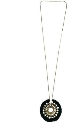 Slate & Salt Tassel Halo Necklace