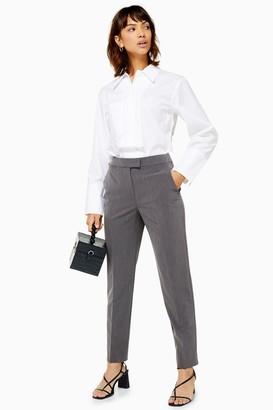 Topshop Grey Cigarette Pants