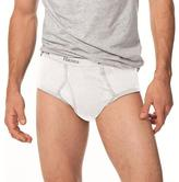 Hanes Classics Men's White Full-cut Briefs (Pack of 6)
