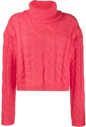 Twin-Set cable knit sweater