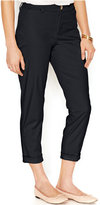 Maison Jules Lou Lou Cropped Straight-Leg Chino Pants, Created for Macy's