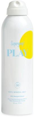 Supergoop! Play 100% Marigold Extract Mineral Sunscreen Mist SPF 30