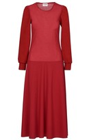 Acephala Red Maxi Dress