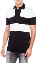 Antony Morato Color Block Paneled Polo