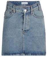 Balenciaga V-waisted mini-skirt