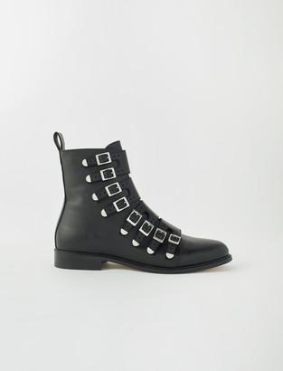 Maje Multi-strap flat boots