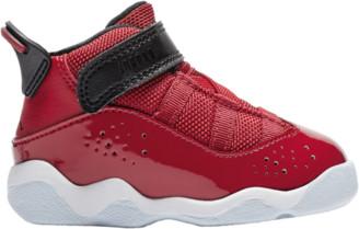 Jordan 6 Rings Basketball Shoes - Gym Red / Black White