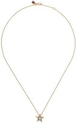 Selim Mouzannar 18kt rose gold diamond Star necklace