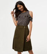 LOFT Pocket Wrap Skirt