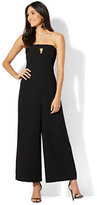 New York & Co. Strapless Jumpsuit