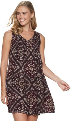 Sonoma Goods For Life Women's Pintuck Sleeveless Dress