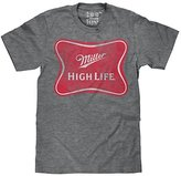 Trau & Loevner Miller High Life Logo Beer Gray Heather Men's T-Shirt-xl
