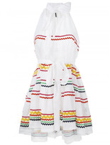 Lisa Marie Fernandez Ric Rac mini dress