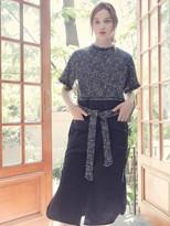 Wardrobe Shirt Layered Dress Navy