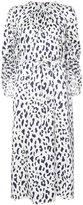 Tibi cheetah printed dress