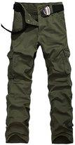 URBANFIND Men's Regular Fit Cargo Pants US Size 34 Ocher Style
