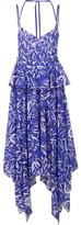 Prabal Gurung handkerchief hem dress - women - Cotton - 2