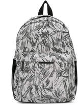 Stella McCartney scribble print backpack