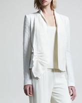 The Row Macro Cotton Jacquard Jacket